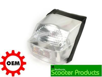 Bgm Vespa Px Rear Light Efl 1980-1984 Clear Lense E Marked Tracked Post