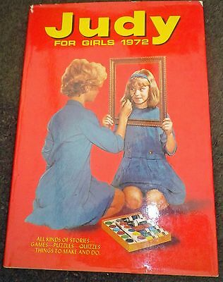 JUDY Annual 1972 with dust jacket