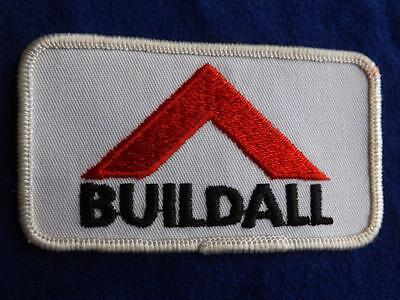Buildall Hardware Construction Stores Company Patch Employee Collector Badge
