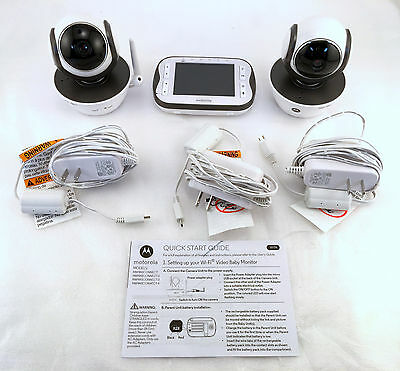 Motorola WiFi 3.5 Inch Video Monitor with 2 Cameras - MBP843CONNECT-2