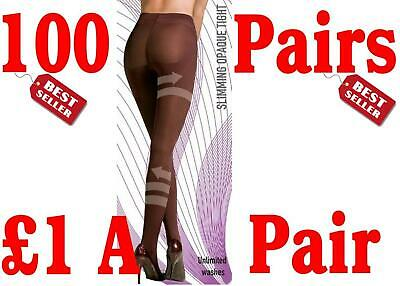 New Job Lot 100 Scala Anti-Cellulite Slimming Tights M Double Your Money Profit