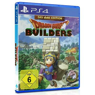 Dragon Quest Builders Day One Edition Sony PS4 Spiel Playstation 4, NEU&OVP