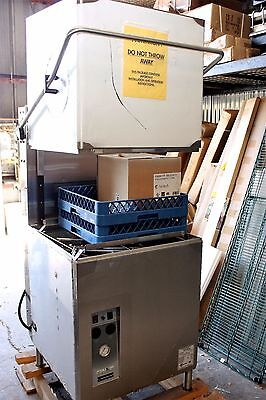 Champion DH-5000(40-70) Dishwasher, Door Type, 53 Racks Per Hour, High Temp, wit