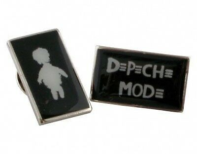 DEPECHE MODE mr.feathers+playing the angel logo 2 X PIN BADGE SET ex tour stock