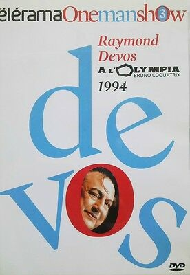 Rare Dvd Raymond Devos - A L'olympia - Spectacle Paris 1994