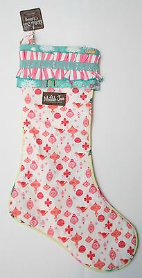 NWT Girls Matilda Jane Once Upon A Time Sweet Noel Stocking