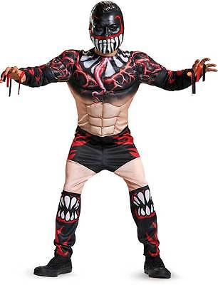 Licensed Wwe Fin Balor Classic Muscle Child Boys Halloween Costume