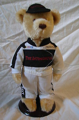 "Awesome AVON Nascar Collectible Plush 10"" Dale Earnhardt w/ Stand & Box"