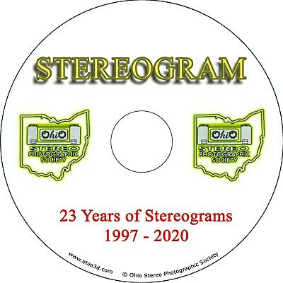 Stereogram 1997-2017 - CD w/20 Years of Stereo Photography Information