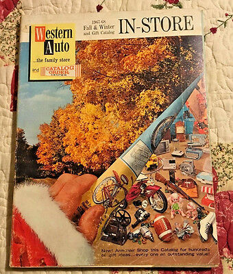 1967 1968 Western Auto Fall and Winter Catalog