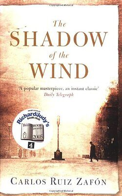 The Shadow Of The Wind,Carlos Ruiz Zafon,Lucia Graves