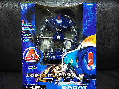 New  Lost In Space Rocket Launcher Robot Roboter Made China Not Japan Working !