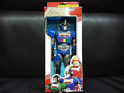 New Old Stock Super Robotic Robot Roboter  Rangers Made In China Not Japan Works