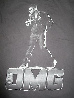 "2010 USHER in OMG ""Baby Let Me Love You Down"" Concert Tour (MED) T-Shirt"
