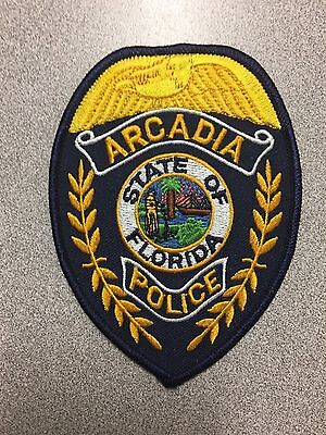 Arcadia  Florida  Police  Shoulder Patch