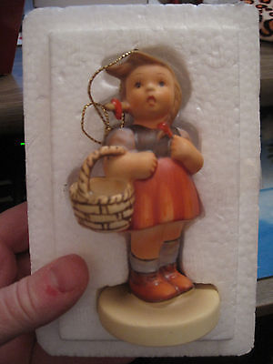 1983 Schmid Christmas tree ornament Reproduction of statuette by Berta Hummel