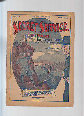 USA - Secret Service - Detectives Story Original 1925