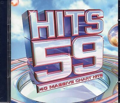 Hits 59 (2 x CD) Maroon 5/Pink/George Michael/Morrissey/Britney Spears/The Corrs