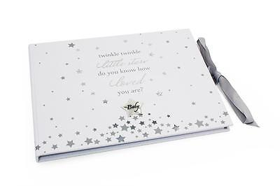 Beautiful Baby Shower Birthday Christening Guest Book Gift CG1425