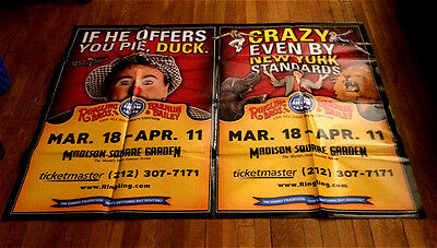 RINGLING BROS old CIRCUS 134 POSTER 5ft SUBWAY POSTER madison square garden