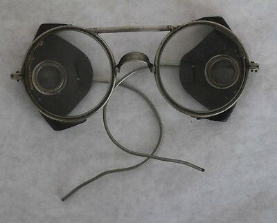 Vintage Willson Ford Motor Company Goggles Glasses