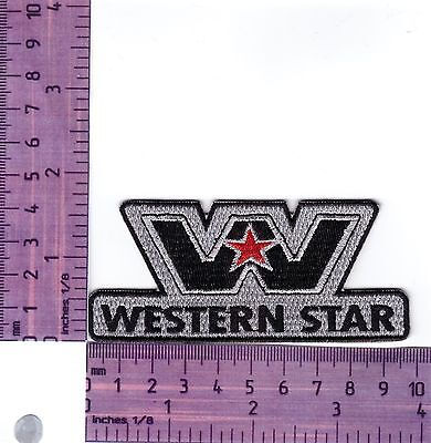 Western Star Trucks Cut Out Embroidered Badge /Cloth Patch