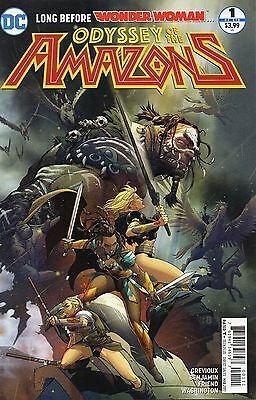 Wonder Woman Odyssey Of The Amazons #1 (NM) `17 Grevioux/ Benjamin (Cover A)
