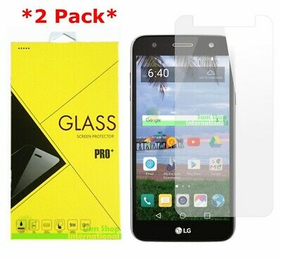 2-Pack Premium Tempered Glass Screen Protector For LG X Power 2 / LG Fiesta LTE