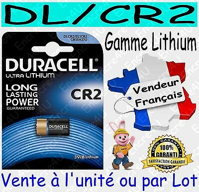 Piles DLCR2 CR2 DURACELL PHOTO - Vente aussi CR2032 CR2025 CR2016 CR2430 CR2450