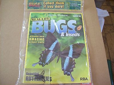 National Geographic Real-life Bugs & Insects magazine Issue 44
