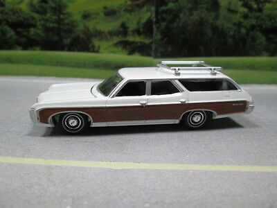 1969 CHEVY KINGSWOOD ESTATE WAGON  S SCALE DIE-CAST FOR LAYOUT or DIORAMA