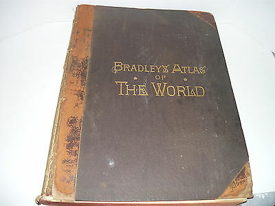 Bradley's Atlas Of The World 1887
