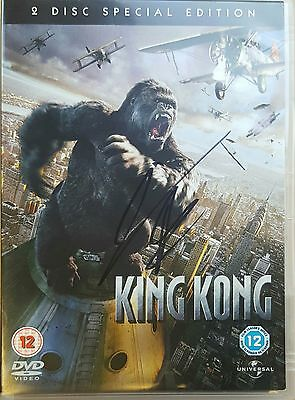 King Kong - 2 Special Edition DVD - Hand Signed by Jamie Bell + COA