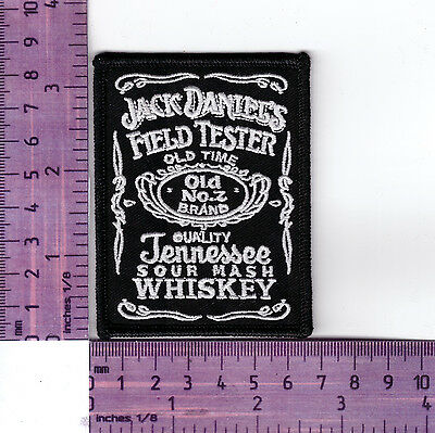 J D's Field Tester  Bikers Vest Or Jacket Embroidered  Cloth Patch