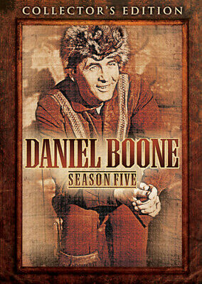DANIEL BOONE TV SERIES COMPLETE SEASON FIVE 5 New 6 DVD Set Collector's Edition