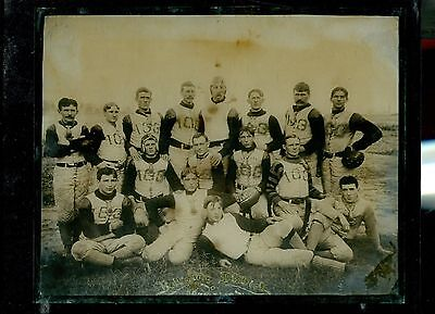 1902 Baltimore Championship Football Team Glass PLATE PHOTO Large