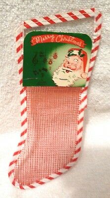 1930s Merry Christmas Candy Stocking Leader Novelty Candy Co