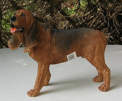 Bloodhound  Large Standing  Statue