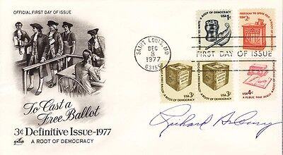 Richard Asbury - First Day Cover Signed