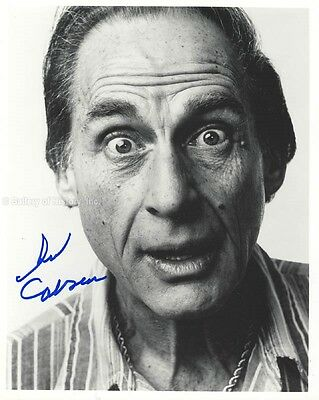 Sid Caesar - Photograph Signed