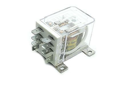 New JQX-12F 2Z DC 12V 30A DPDT General Purpose Power Relay 8 Pin