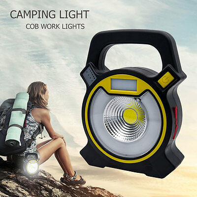 LED USB Rechargeable Camping Light Outdoor Hiking Tent Lamp Lantern Charging New