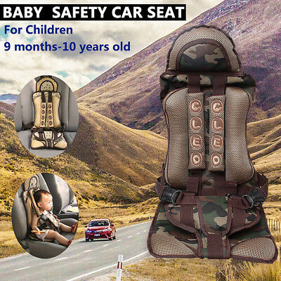 Green Baby Car Seat Infant Toddler Safety Booster Chair Kids Safe Travel Cushion