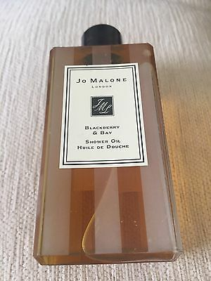 Jo Malone. Blackberry And Bay Shower Oil 250ml Genuine Item