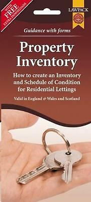Property Inventory Form Pack: How to Create an Inventory and Schedule of