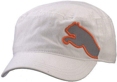 Puma Military Mens Golf Cap - White