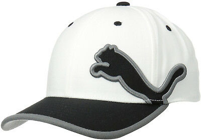 Puma Monoline 2.0 Relaxed Fit Mens Golf Cap - White