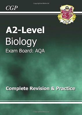 A2-Level Biology AQA Revision Guide,CGP Books