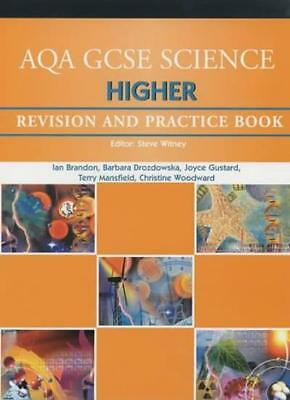 AQA GCSE Higher Science Revision and Practice Book (AQA GCSE Separate Sciences,