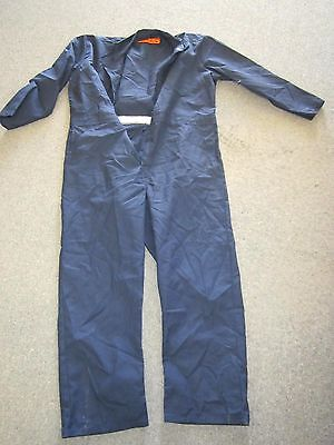 """Red Kap CT10NV Men's Navy Blue Coveralls Fits 48"""" Chest Size XL NEW"""
